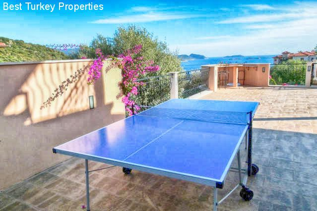 Outdoor Table Tennis on the Side Terrace. Lots of Activities and Games for all ages