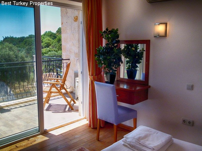 The Dressing Table & Balcony in Bedroom #. This is the biggest Balcony with the best view