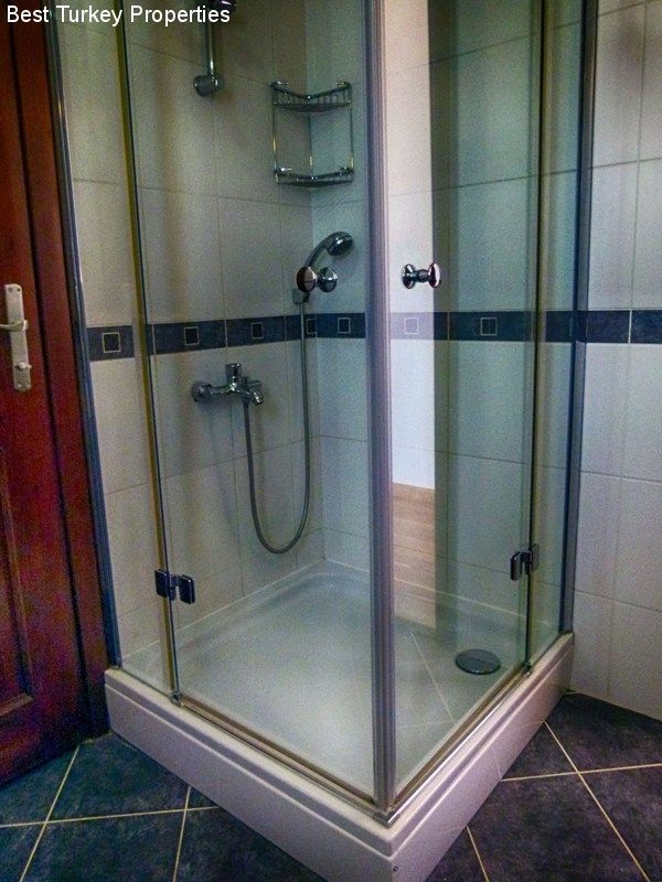 Detail of the Jack n Jill Shower-room shared by Bedrooms # & #