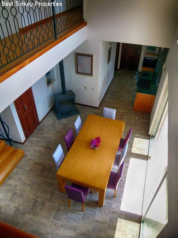 . View from the Gallery Landing onto the Dining Area